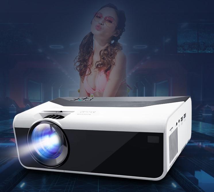 4K超高清2021新款投影仪家用白天卧室一体机墙投小米智能wifi 108