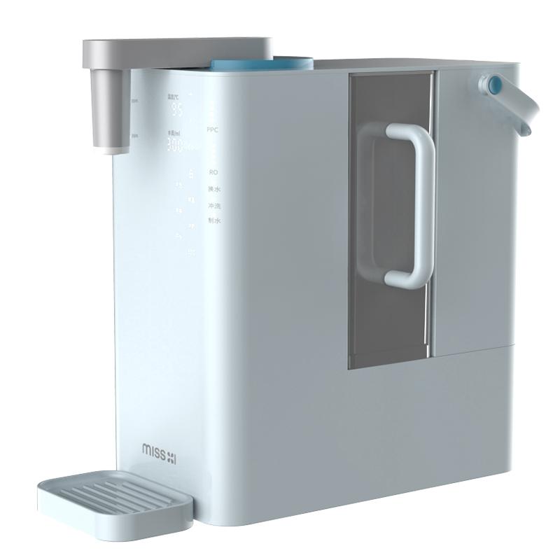 熊小夕独角兽净饮机 家用直饮加热一体机饮水机净水器台式净饮机