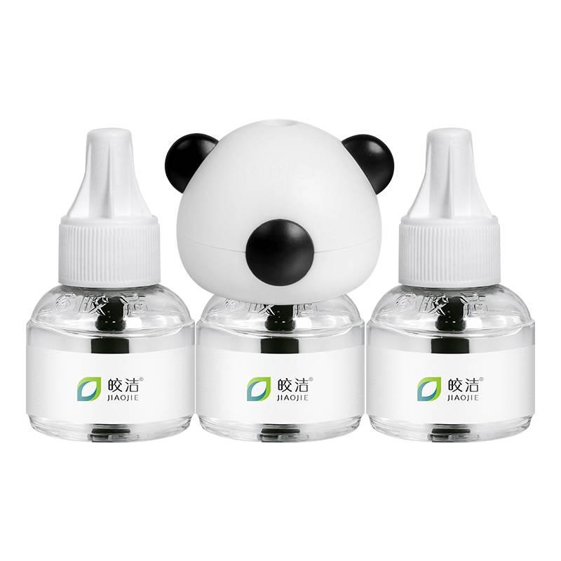 皎洁电热蚊香液套装无味婴儿孕妇驱蚊器室内插电式家用灭蚊补充液