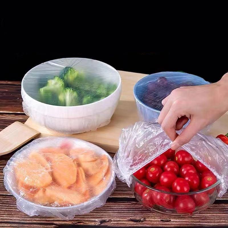食品级一次性保鲜膜套万能防尘保鲜罩膜自封口多功能盖套菜罩家用