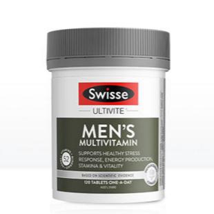 [推荐]swisse斯维诗男士复合维生素120粒 多种维生素番茄红素