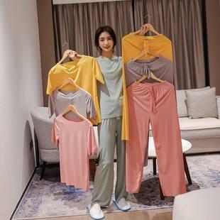 捡漏 夏季冰丝家居服睡衣2件套.