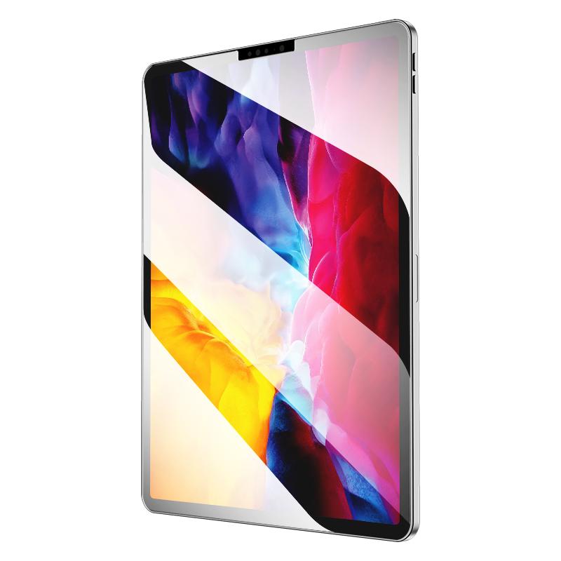 ipad钢化膜2020新款平板蓝光膜mini5/4/6磨砂膜2021pro11寸绘画类纸膜绿光护眼璃膜适用于苹果贴膜12