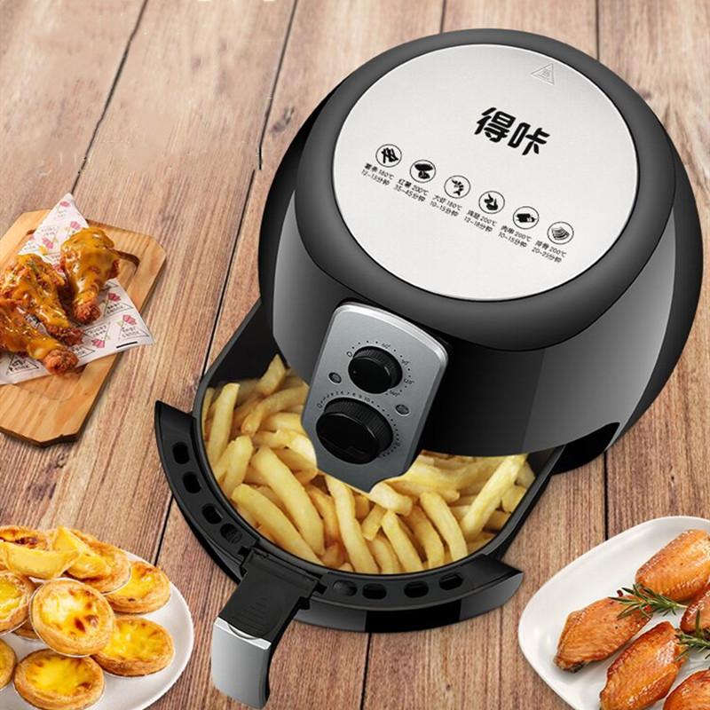 得咔空气炸锅家用烤箱大容量智能全自动多功能新款无油空气电炸锅