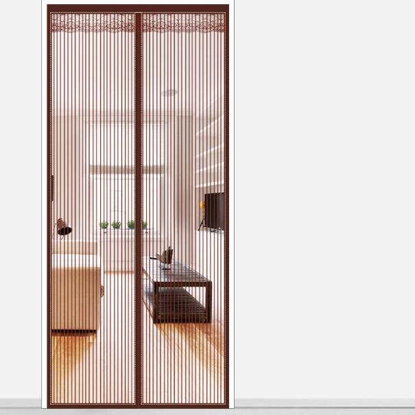 金刚款防蚊门帘磁性魔术贴夏季纱门纱窗家用隔断自吸磁铁免打孔
