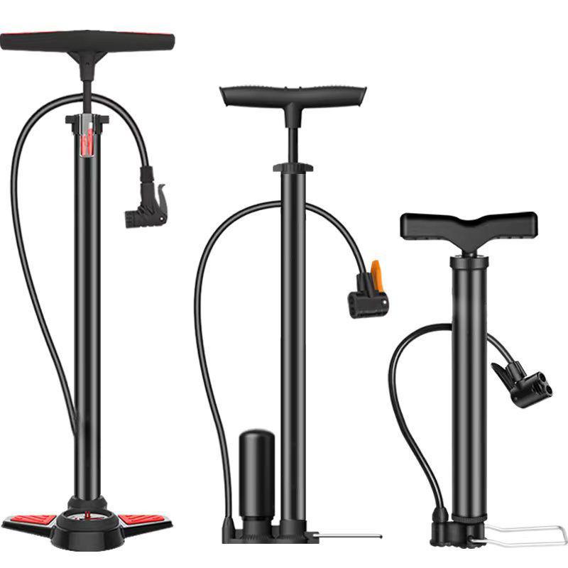 好打气筒高压自行车打气筒篮球足球家用便携气筒电动车摩托车气管
