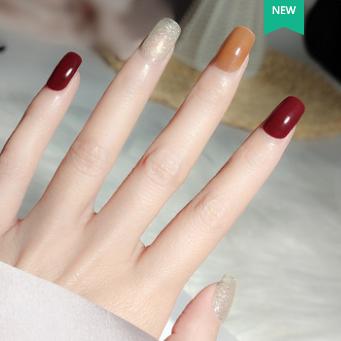 美甲光疗指甲油胶2021年新款套装美甲店专用小套系流行色脚趾显白