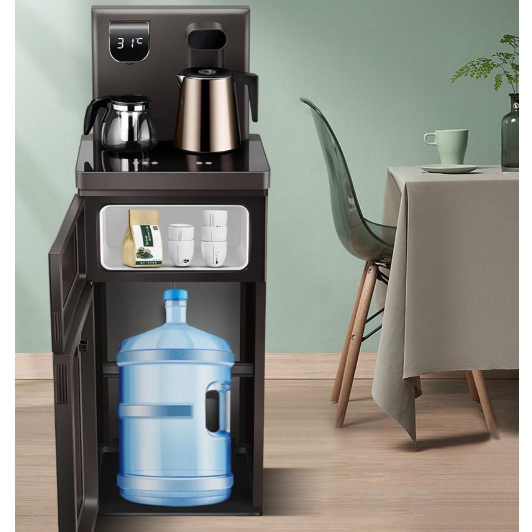 TCL饮水机家用立式下置水桶冷热全自动上水智能茶吧机多功能高端