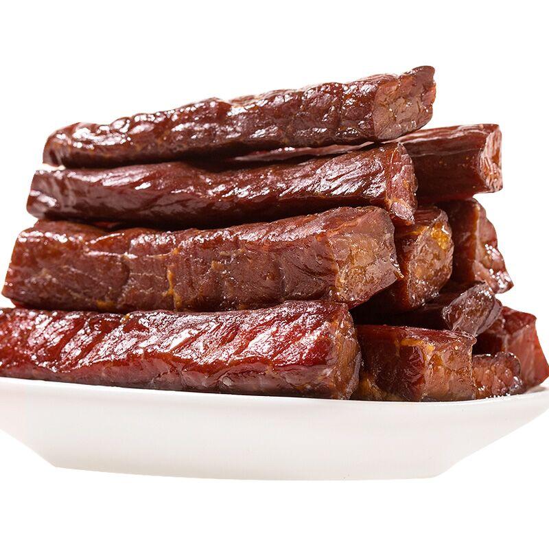 风干牛肉干四川特产内蒙古五香手撕牦牛肉500克西藏耗牛香辣零食