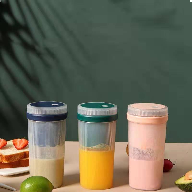 贝奇熊榨汁杯家用水果迷你小型果汁杯电动便携炸果汁机无线榨汁机
