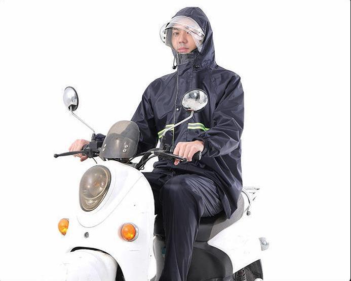 雨衣雨裤套装分体防水防暴雨外卖骑行全身加厚长款电动车男女套装