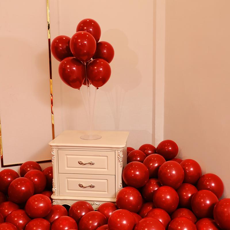 婚房布置气球套装结婚用品大全创意浪漫婚礼卧室男方女方婚庆装饰