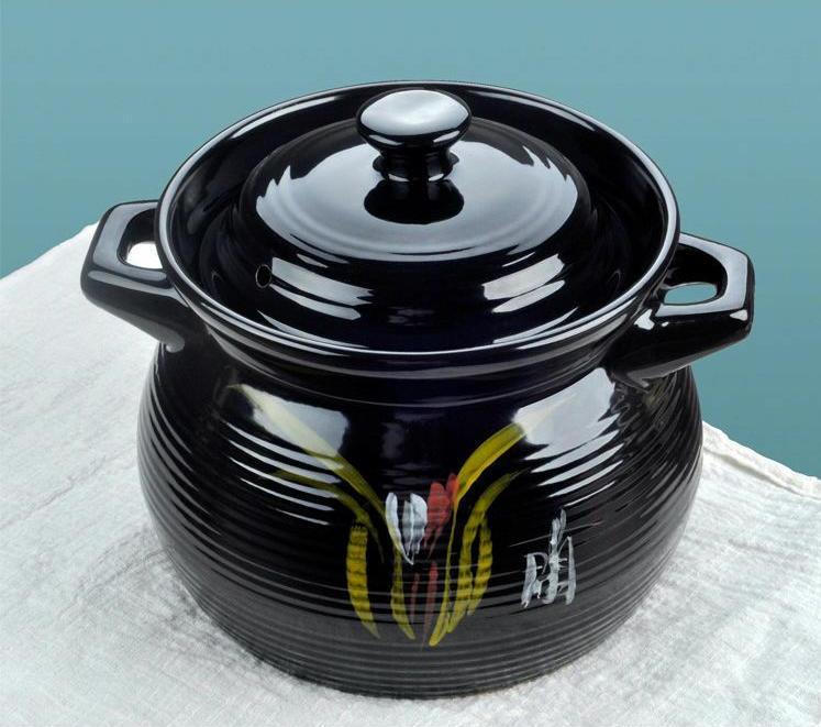 明火耐高温煲汤炖锅沙锅米线土豆粉丝专用耐热小号煲仔饭陶瓷砂锅