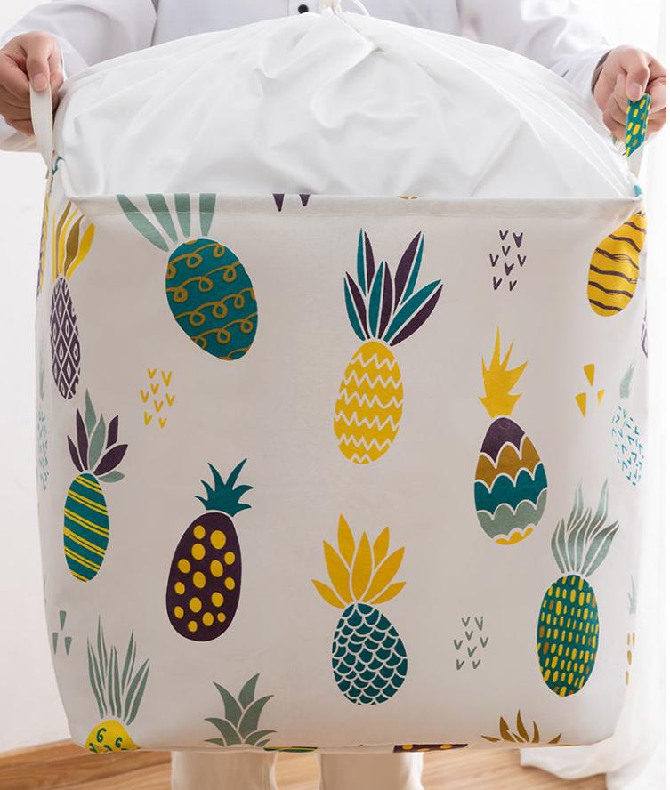 买一送一特大号装被子衣物收纳袋棉麻宿舍防潮尘搬家行李打包筐盒