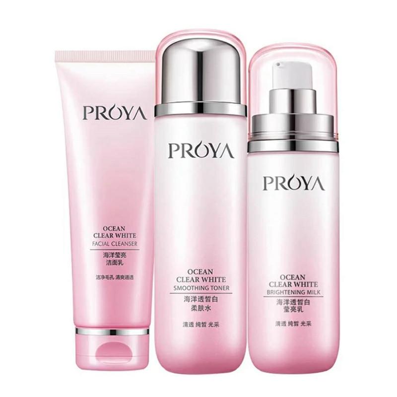珀莱雅美白淡斑护肤品套装补水保湿水乳化妆品女官方旗舰店正品