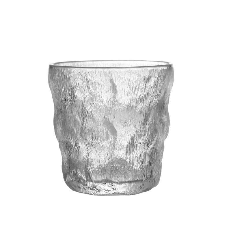 ins风玻璃水杯个性高颜值女大容量学生清新可爱果汁杯水杯咖啡杯