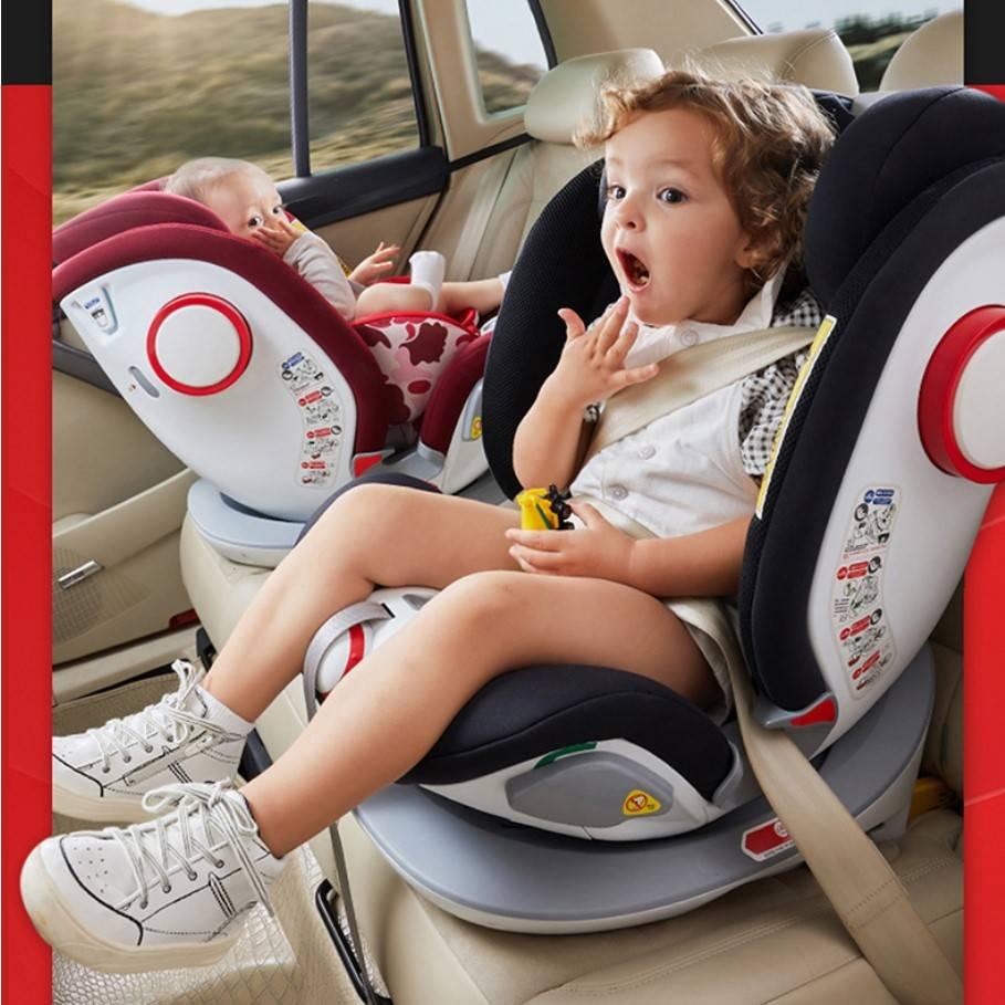儿童安全座椅汽车用婴儿宝宝车载360度旋转简易便携式坐椅0岁通用