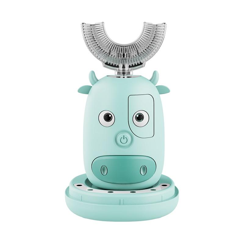 德国U型儿童电动牙刷U形软毛宝宝2-3-4-6-12岁以上全自动刷牙神器