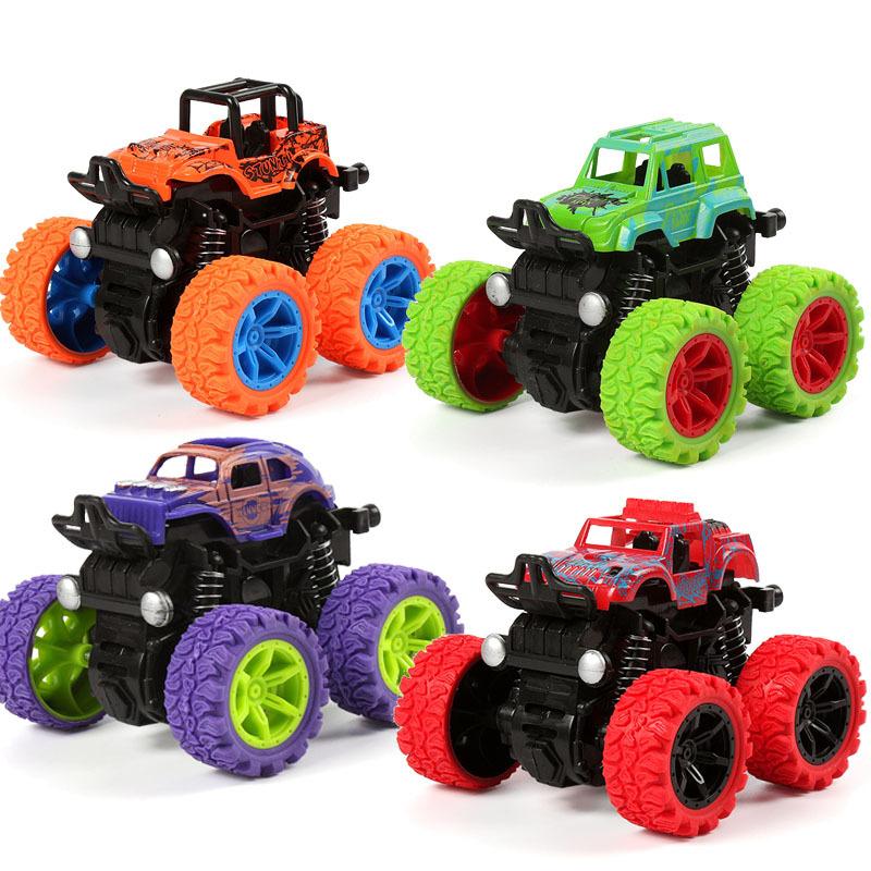 惯性四驱越野车小孩礼物模型小汽车