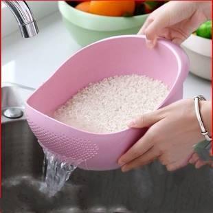 家用大号加厚厨房淘米器 洗菜篮