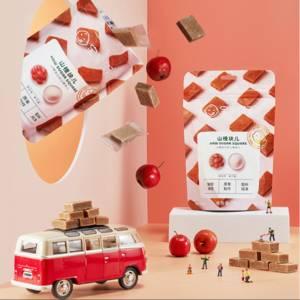 宝宝馋了儿童零食新货山楂小方糕118g单包装送12月+婴儿幼儿食谱
