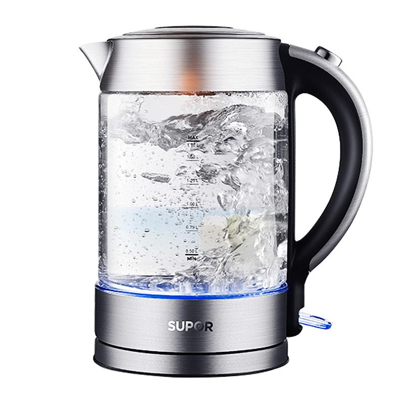 SUPOR\\\/苏泊尔 SWF17E26A苏泊尔烧水壶电热水壶家用玻璃开水壶自动