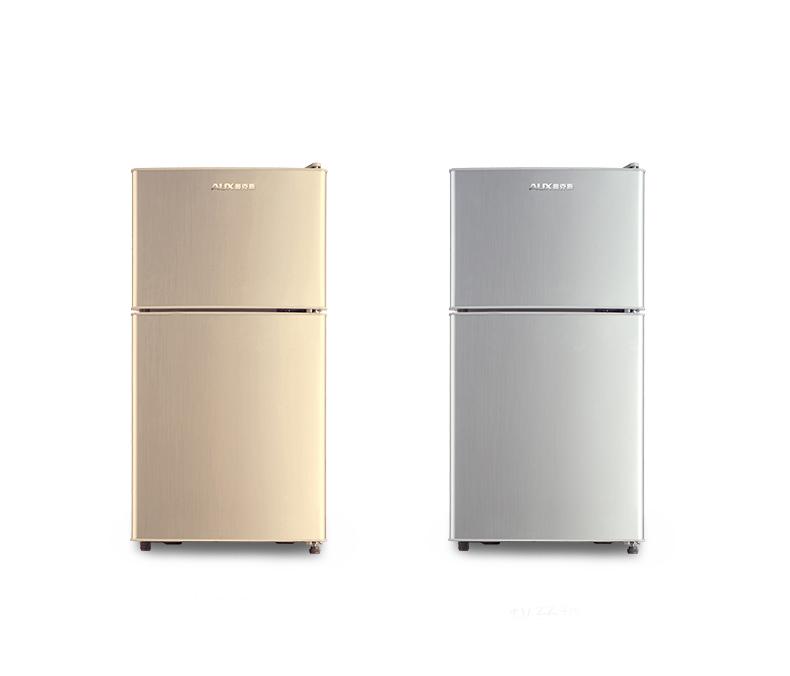 奥克斯小冰箱家用冷藏冷冻电冰箱小型双门节能静音宿舍出租房保鲜