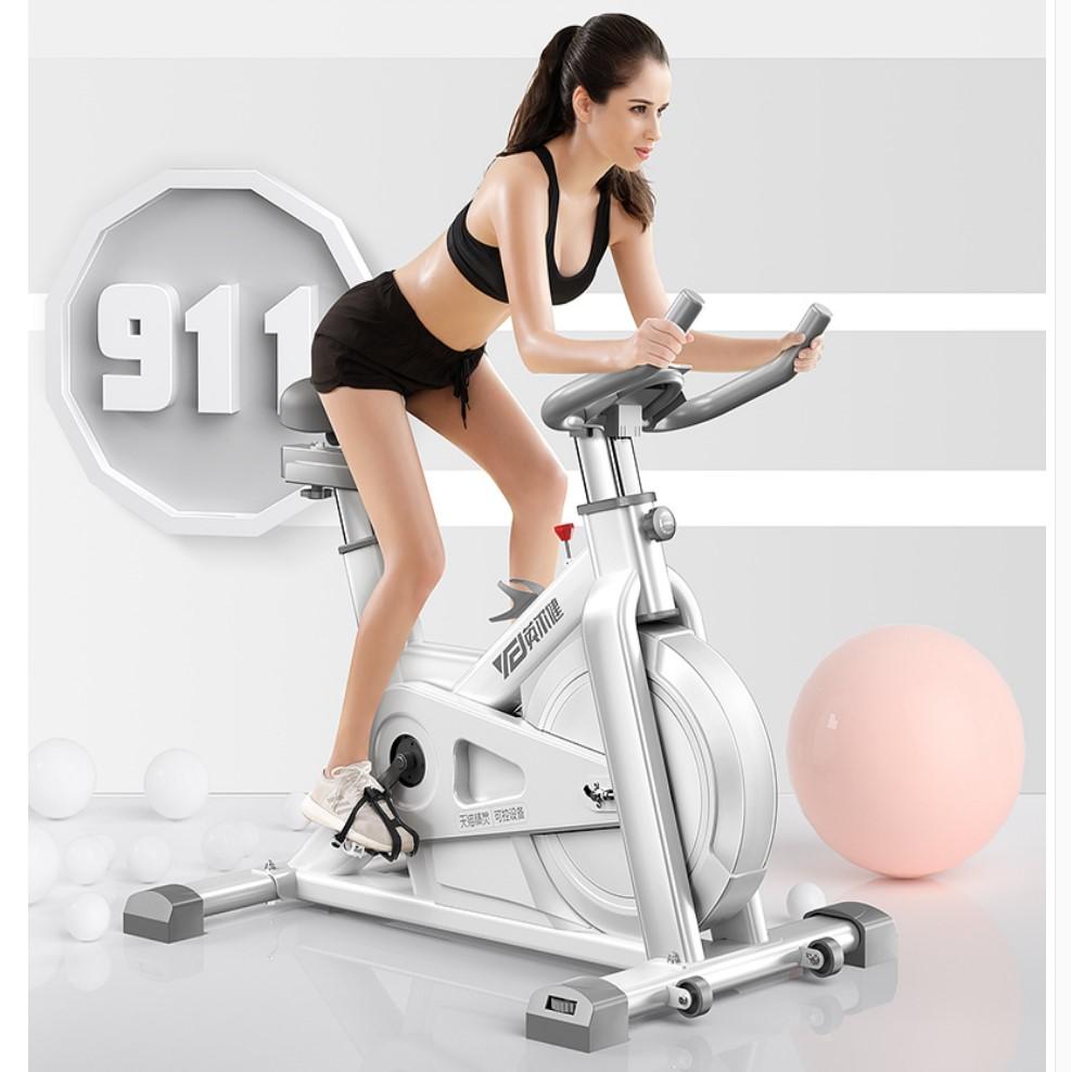 2021全新升级动感单车家用室内健身车房减肥女锻炼脚踏运动自行车