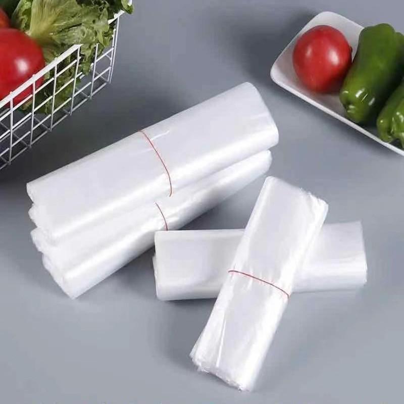 白色食品袋塑料袋一次性透明包装袋外卖打包袋方便袋背心袋手