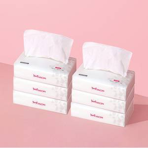 【拍6件】猫人婴儿柔纸巾108抽*6包