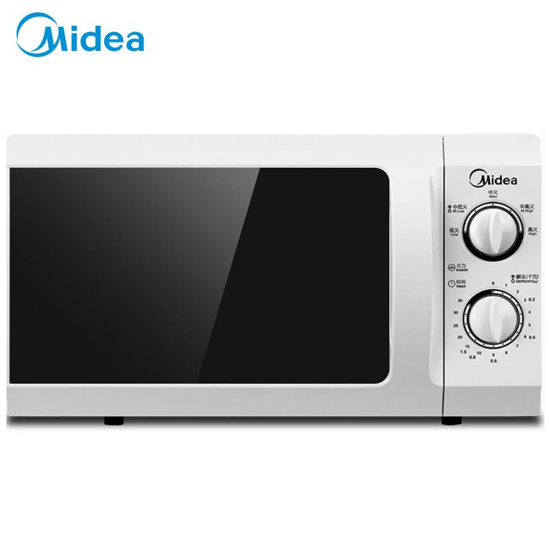 Midea/美的家用多功能转盘式微波炉旋钮控制操作简单智能省电款