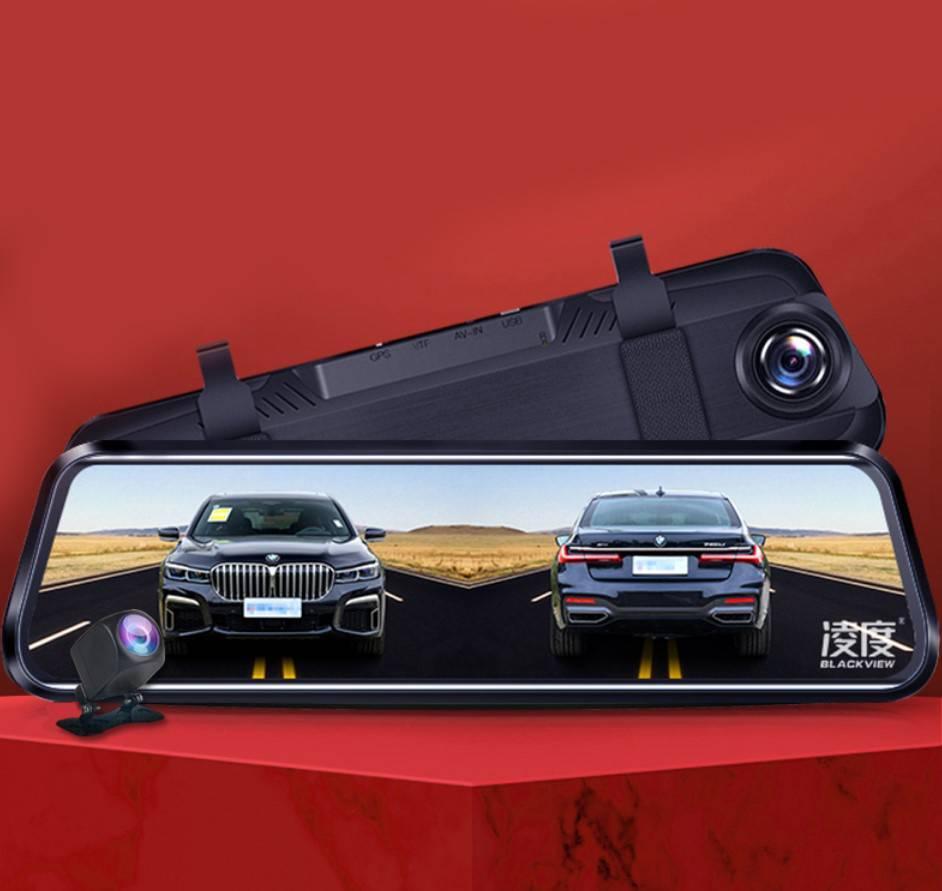 行车记录仪汽车载前后双录倒车影像流媒体无线高清夜视免安装