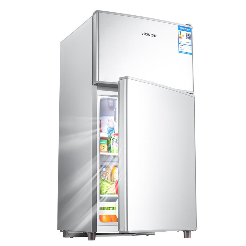 志高冰箱小型家用双门双开门宿舍租房用迷你冷藏冷冻节能省电