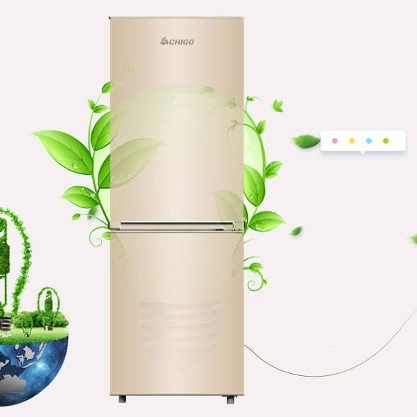 志高冰箱家用小型单人双门双开门迷你宿舍出租房冷藏冷冻节能省电