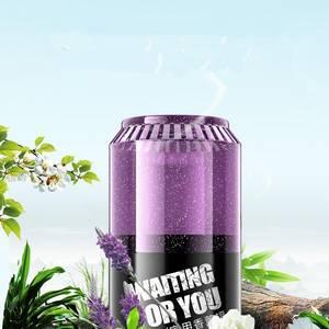 易拉罐持久淡香汽车香薰香水固体香氛摆件