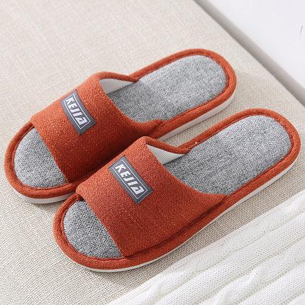 棉拖鞋女秋冬季情侣家居家用室内防滑可爱保暖毛绒布拖鞋男士冬天