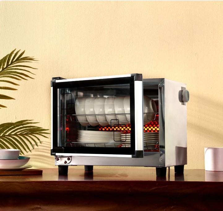 柜高温家用立式迷你小型双门商用饭店保洁厨房碗柜