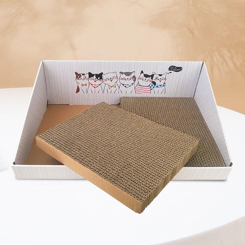 DA猫抓板磨爪器瓦楞纸猫沙发猫抓垫猫爪板猫咪玩具猫玩具猫咪用品