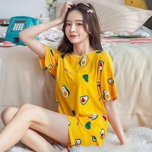 【新款睡衣】韩版短袖睡衣套装