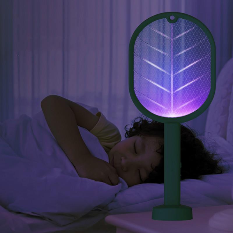 充电式USB灭蚊拍诱蚊吸蚊灯大号