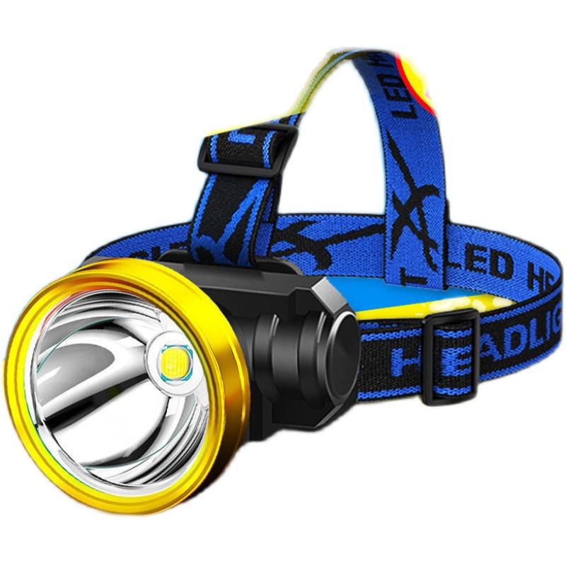 LED头灯强光超亮可充电式钓鱼灯远射超亮