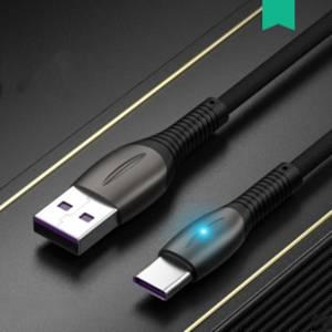 帕尔迪 type-c数据线闪充充电线