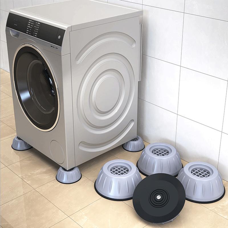 4个通用固定防震洗衣机底座
