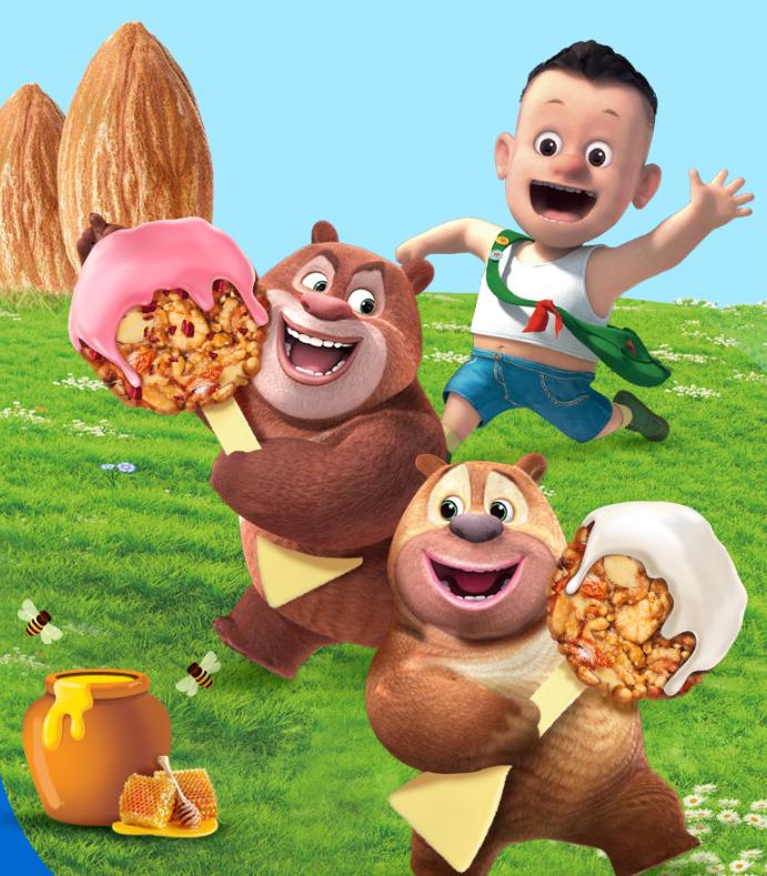 【大J小D推荐】BEKIND缤善每日成长儿童坚果棒棒糖零食15g*10 GK3