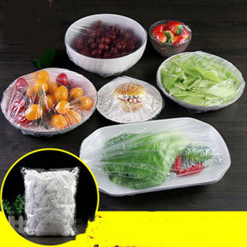 保鲜膜家用冰箱PE厨房一次性保鲜盖套剩饭菜防尘罩食品级保鲜罩